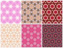 Modello rosa senza cuciture geometrico Immagine Stock Libera da Diritti