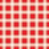 Modello rosso del percalle, fondo geometrico royalty illustrazione gratis