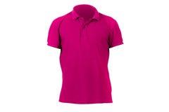 Modello rosso della maglietta Fotografia Stock Libera da Diritti