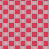Modello rosso delle mattonelle Immagine Stock