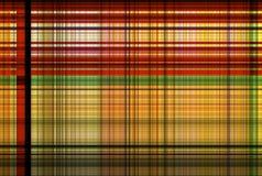Modello rosso e verde del tartan trasversale - Tabella dell'abbigliamento del plaid Immagine Stock