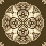 Modello rotondo ornamentale del pizzo Immagine Stock Libera da Diritti