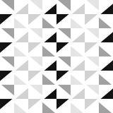 Modello scandinavo del triangolo di stile illustrazione di stock