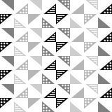 Modello scandinavo del triangolo di stile royalty illustrazione gratis