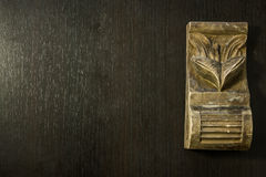 Modello scolpito in legno Fotografia Stock