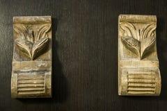 Modello scolpito in legno Immagine Stock Libera da Diritti