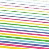 Modello semplice delle linee colorate luminose Immagini Stock Libere da Diritti