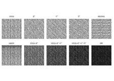 Modello semplice di struttura approssimativa di lerciume di covata illustrazione vettoriale