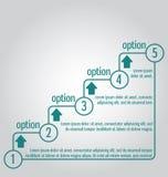 Modello semplice e chiaro, punti Può essere usato per il infographics, royalty illustrazione gratis