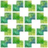 Modello senza cuciture acrilico verde Retro priorità bassa Struttura astratta Può essere usato per la carta da parati, materiali  illustrazione di stock