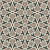 Modello senza cuciture arabo del Marocco illustrazione di stock