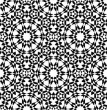 Modello senza cuciture arabo geometrico Fotografia Stock