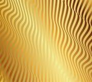 Modello senza cuciture arancio dell'ondulazione Ripetizione del fondo di vettore Fotografie Stock Libere da Diritti