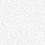 Modello senza cuciture astratto dei cerchi Fotografia Stock