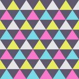 Modello senza cuciture astratto dei triangoli di colore struttura alla moda moderna illustrazione vettoriale