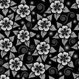 Modello senza cuciture astratto dell'ornamentale del fiore Fotografia Stock Libera da Diritti