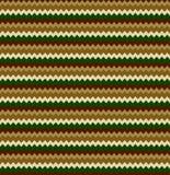 Modello senza cuciture astratto dello zigzag di colore Fotografia Stock Libera da Diritti
