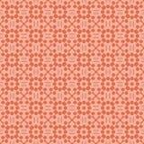 Modello senza cuciture astratto nel colore arancio Fotografie Stock