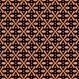 Modello senza cuciture astratto nel colore arancio Fotografia Stock Libera da Diritti