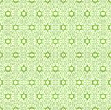 Modello senza cuciture astratto verde Fotografie Stock Libere da Diritti