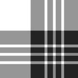 Modello senza cuciture in bianco e nero del tartan di Macgregor Fotografia Stock Libera da Diritti