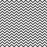 Modello senza cuciture in bianco e nero di zigzag di Chevron Immagine Stock