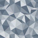 Modello senza cuciture brillante Fondo di vettore del triangolo del diamante illustrazione di stock