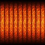 Modello senza cuciture caldo luminoso delle linee ardenti di Wave per il App, programma Immagini Stock