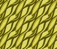Modello senza cuciture con delle le curve colorate d'annata Illustrazione Vettoriale