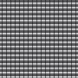 Modello senza cuciture con i bottoni di Chrome Fotografia Stock Libera da Diritti