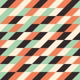Modello senza cuciture con i rombi multicolori Fotografia Stock