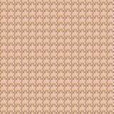 Modello senza cuciture con il quadrato rosa e marrone Fotografie Stock Libere da Diritti