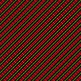 Modello senza cuciture con l'ornamento astratto geometrico etnico Motivi trasversali del ricamo dello slavo del punto illustrazione vettoriale