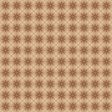 Modello senza cuciture con l'ornamento floreale geometrico Fotografia Stock