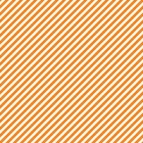 Modello senza cuciture con le bande diagonali arancio e bianche, fondo senza cuciture di struttura Halloween, feste di ringraziam illustrazione di stock