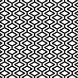Modello senza cuciture con le forme del rombo illustrazione di stock