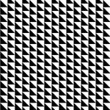 Modello senza cuciture con le forme del triangolo illustrazione vettoriale
