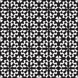 Modello senza cuciture con le forme geometriche, illustrazione del monochromel illustrazione di stock