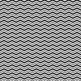 Modello senza cuciture con le linee di Wave del triangolo royalty illustrazione gratis