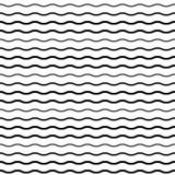Modello senza cuciture con le linee regolari di Wave royalty illustrazione gratis