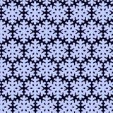 Modello senza cuciture con snowflak Carta da parati semplice ed elegante in bianco e nero Immagine Stock