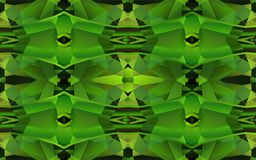 Modello senza cuciture con struttura di cristallo verde Fotografie Stock