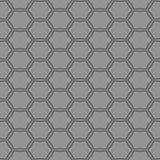 Modello senza cuciture d'annata semplice grigio illustrazione di stock