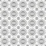 Modello senza cuciture dei cerchi appuntiti Illustrazione di vettore Immagine Stock