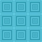 Modello senza cuciture dei quadrati Fotografie Stock