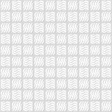 Modello senza cuciture dei quadrati Carta da parati ondulata Fotografia Stock Libera da Diritti