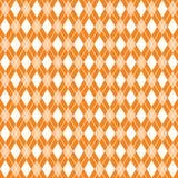 Modello senza cuciture del argyle arancio, carta digitale del argyle, fondo arancio Immagine Stock Libera da Diritti