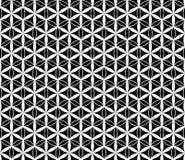 Modello senza cuciture del fiore in bianco e nero di vettore, fondo illustrazione vettoriale