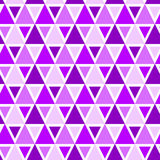 Modello senza cuciture del fondo dei triangoli Fotografia Stock