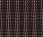 Modello senza cuciture del fondo della fibra geometrica del carbonio 3D rendono l'IL illustrazione di stock